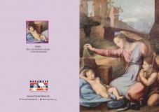 María y San Juan adorando al niño
